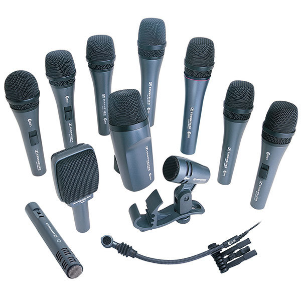 Evolution microphone series