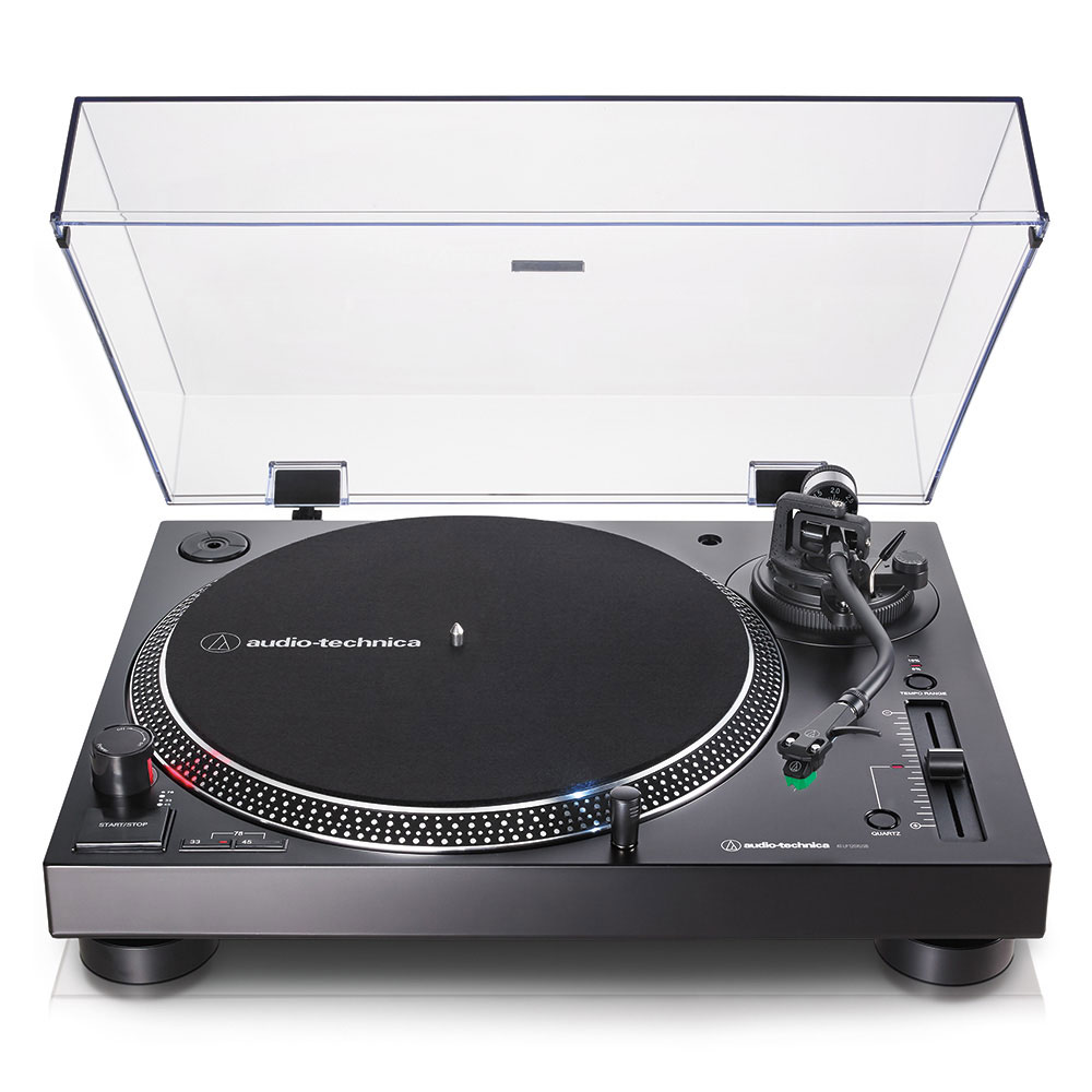 Audio-Technica AT-LP120XUSBBK Turntable - Front