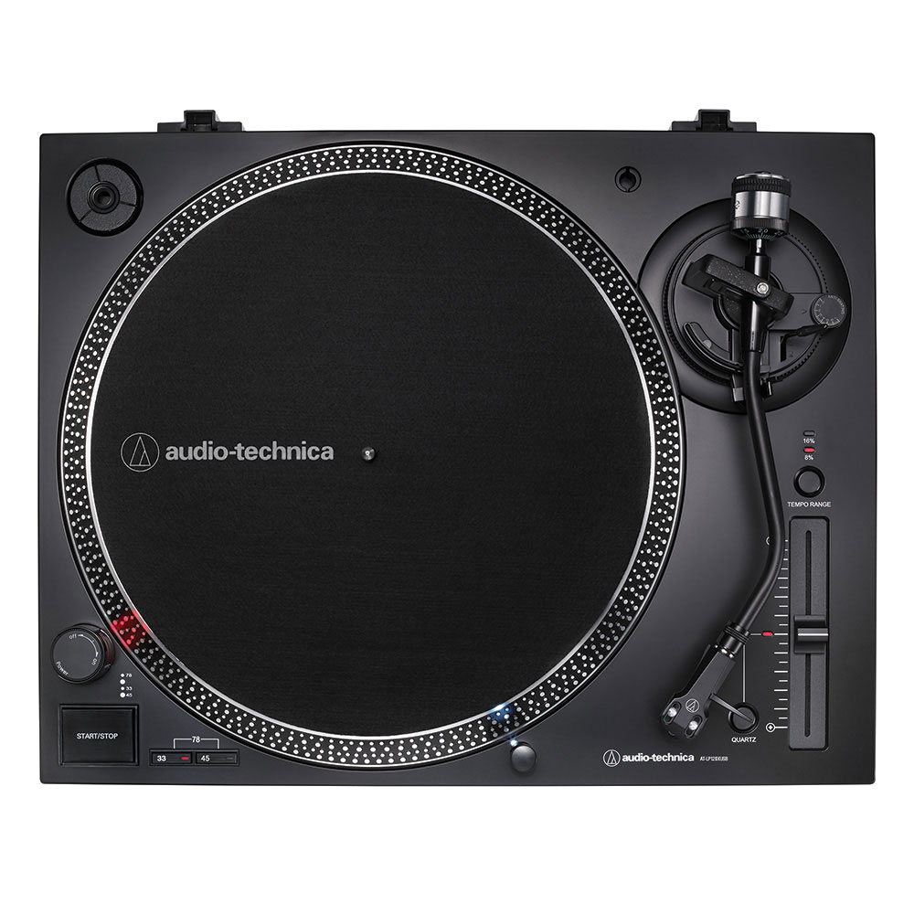 Audio-Technica AT-LP120XUSBBK Turntable - Top