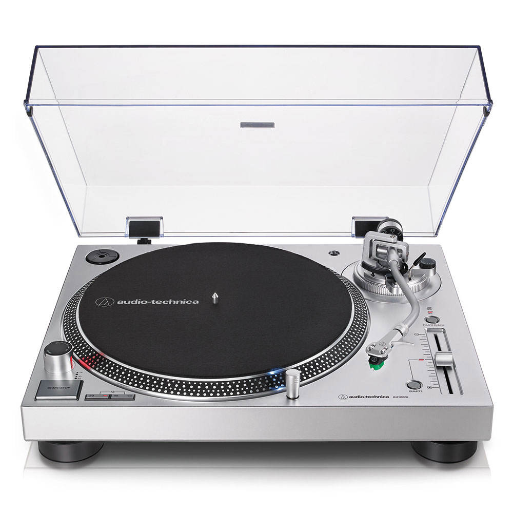 Audio-Technica AT-LP120XUSBSV Turntable - Front