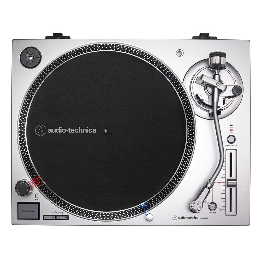 Audio Technica At Lp120xusb Turntable Silver Vsystem