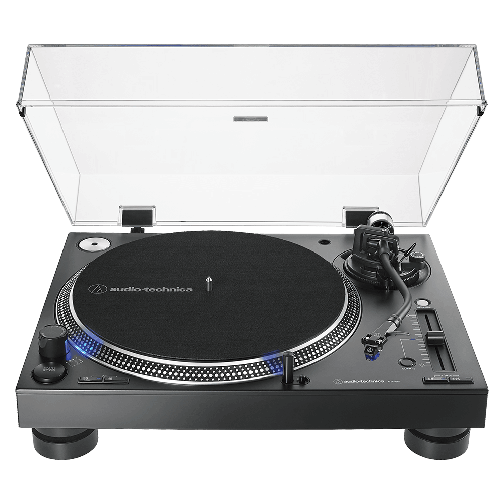 Audio-Technica AT-LP140XPBK Turntable - Front