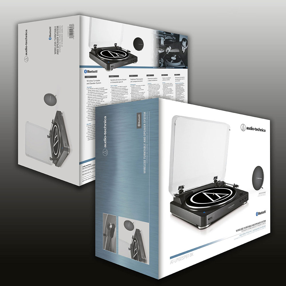 Audio-Technica AT-LP60SPBT Wireless System - Package