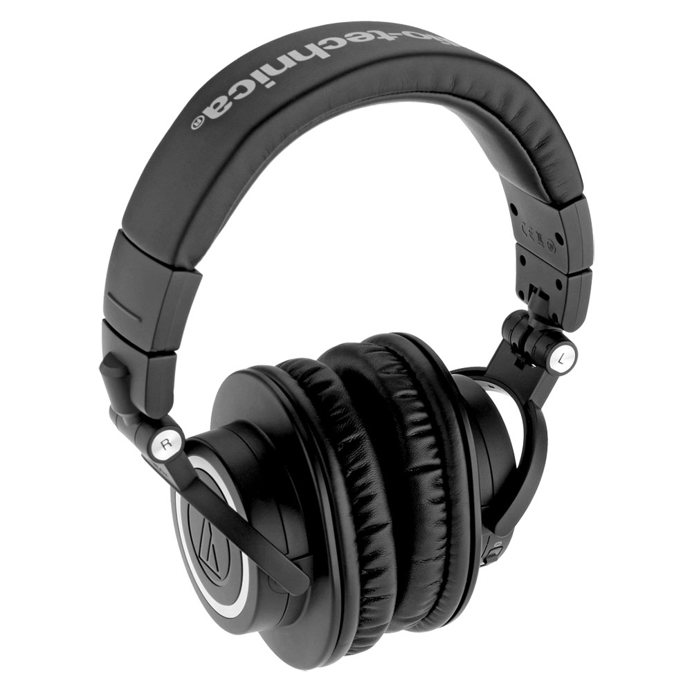 Audio-Technica ATH-M50xBT Headphones - Product Above