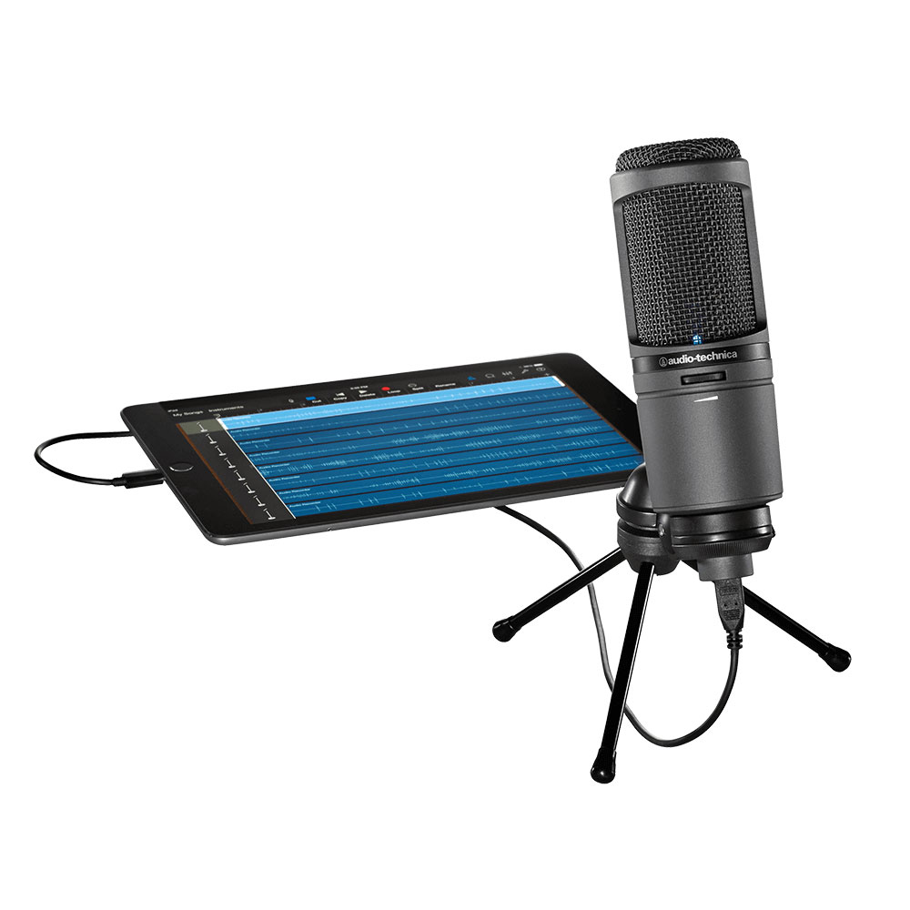Audio-Technica AT2020USBi Microphone - Product Application