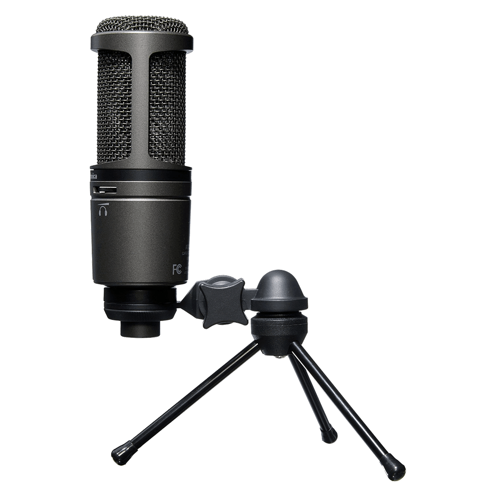 Audio-Technica AT2020USB+ Microphone - Product Left