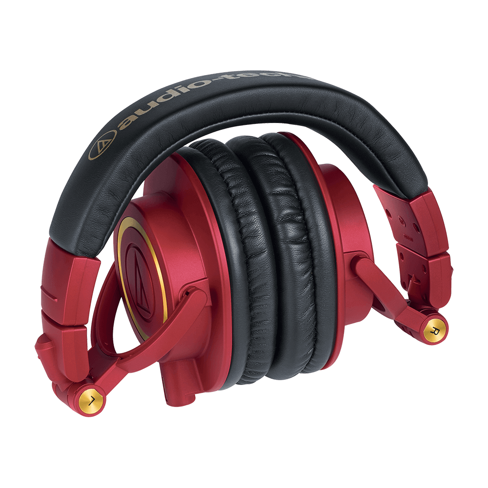 Audio-Technica ATH-M50xRD Headphones - Product Folded