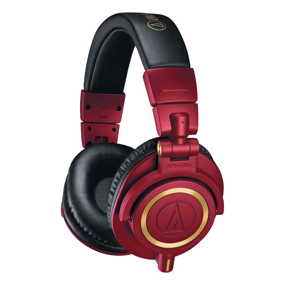 Audio-Technica ATH-M50xRD Headphones - Product Front