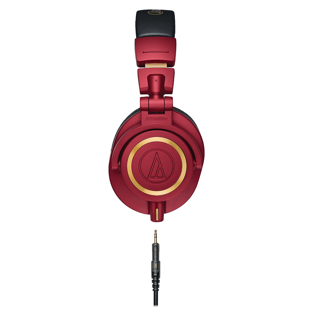 Audio-Technica ATH-M50xRD Headphones - Product Side