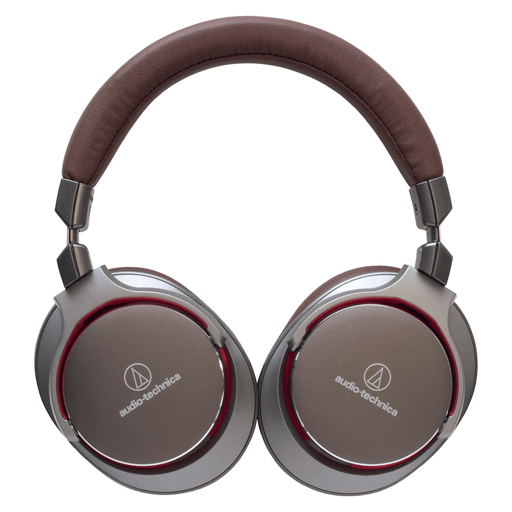 Audio-Technica ATH-MSR7GM Headphones - Folded