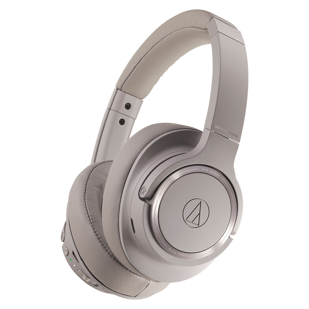 Audio-Technica ATH-SR50BT Headphones - Grey