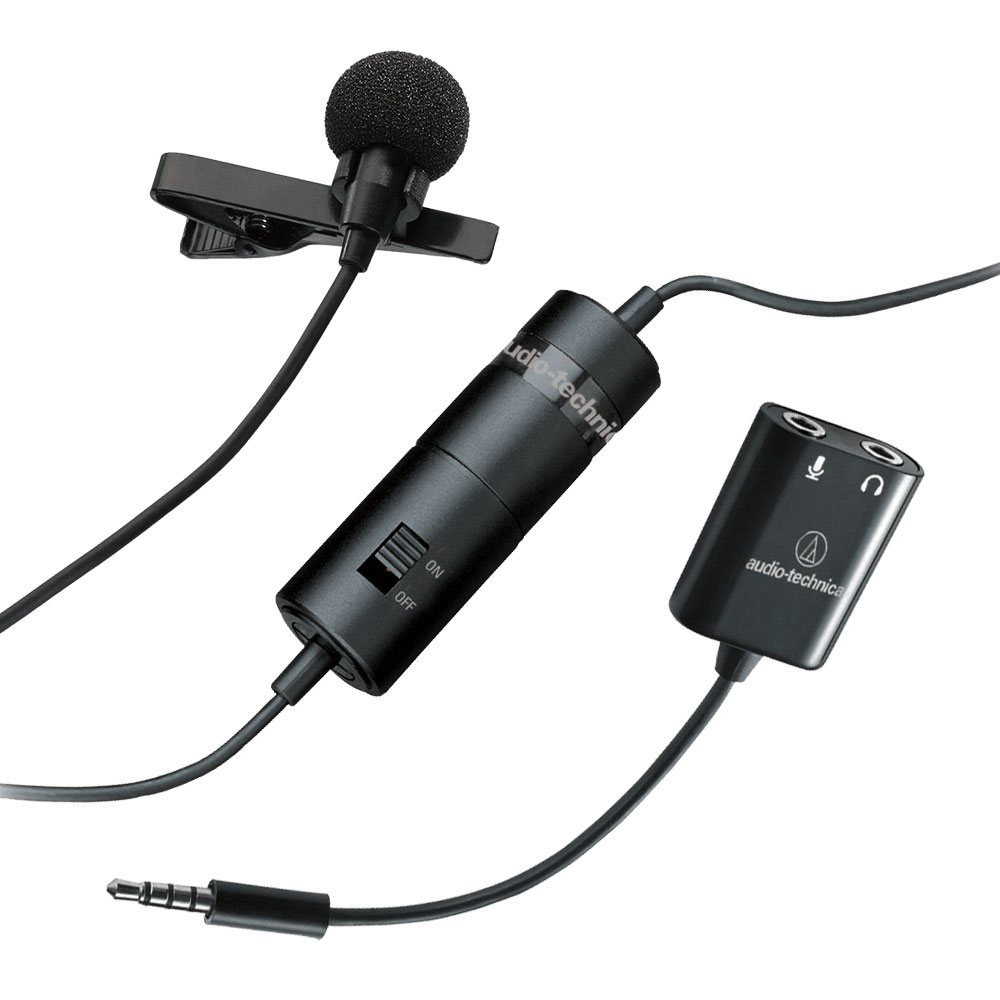 Audio-Technica ATR3350iS Microphone