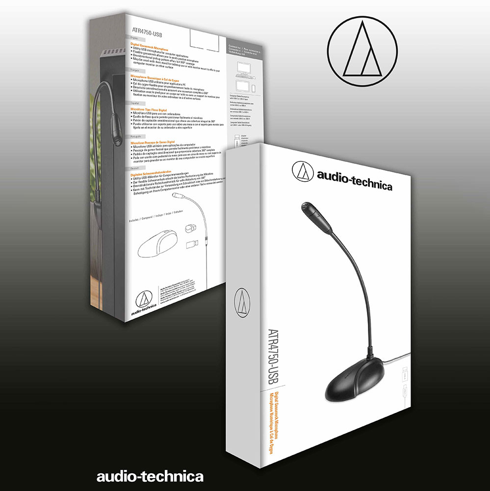 Audio-Technica ATR4750-USB Microphone - Packaging