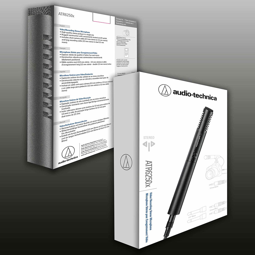 Audio-Technica ATR6250x Microphone - Packaging