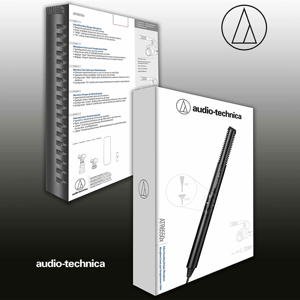 Audio-Technica ATR6550x Microphone - Packaging