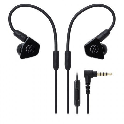 Audio-Technica ATH-LS50iS Black Headphones