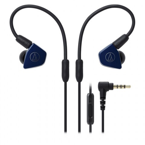 Audio-Technica ATH-LS50iS Blue Headphones