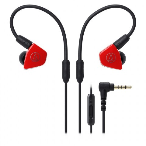 Audio-Technica ATH-LS50iS Red Headphones