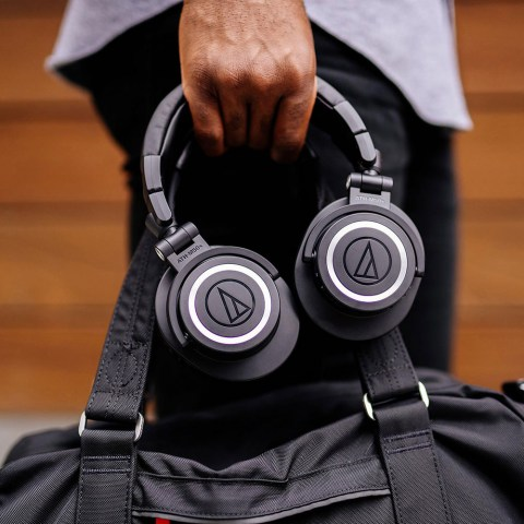 Audio-Technica ATH-M50xBT Headphones - Product Application - Bag