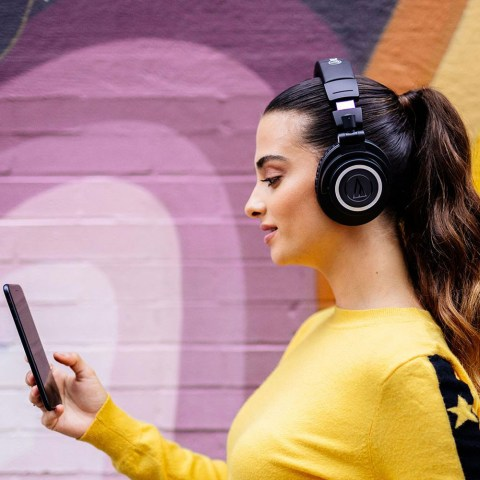 Audio-Technica ATH-M50xBT Headphones - Product Application - Girl