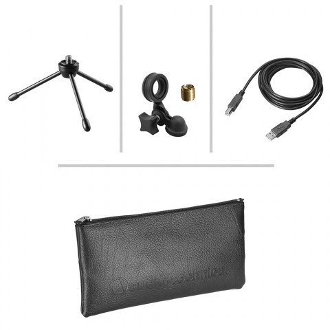 Audio-Technica AT2020USB+ Microphone - Product Accessories