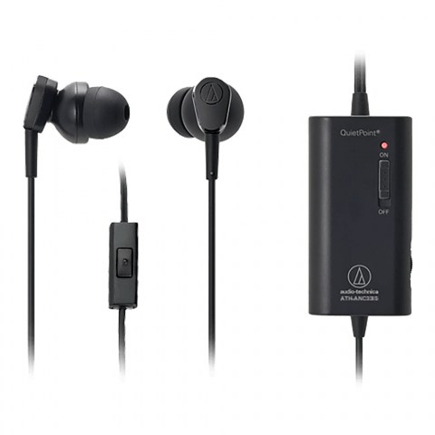 Audio-Technica ATH-ANC33iS Earphones - with remote control