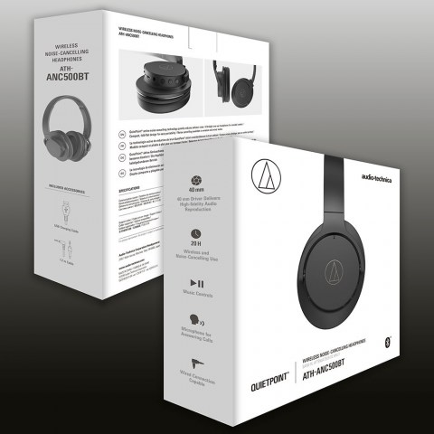 Audio-Technica ATH-ANC500BT Headphones - Packaging