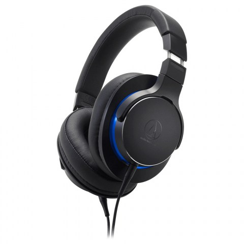 Audio-Technica ATH-MSR7b Headphones - Black