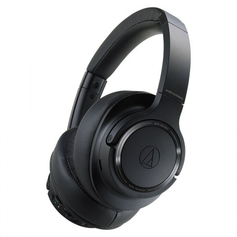 Audio-Technica ATH-SR50BT Headphones - Black