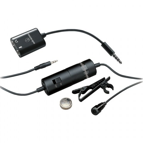 Audio-Technica ATR3350iS Microphone - Product Kit