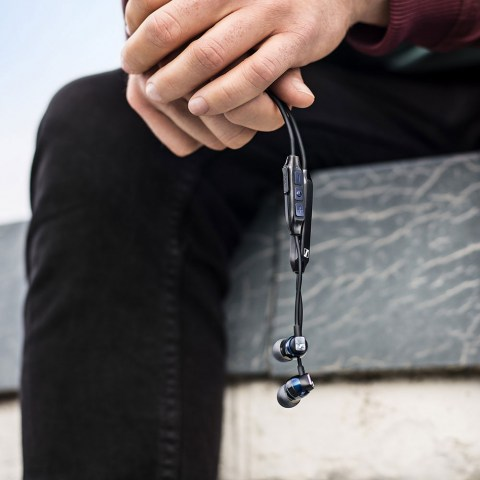 Sennheiser CX 6.00BT Earphones - Product Application - In the Hands