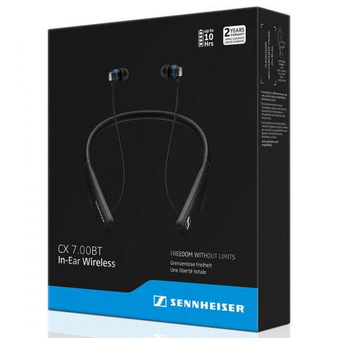 Sennheiser CX 7.00BT In-Ear Wireless Earphones - Packaging Front