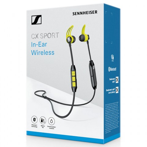 Sennheiser CX SPORT Earphones - Packaging Front