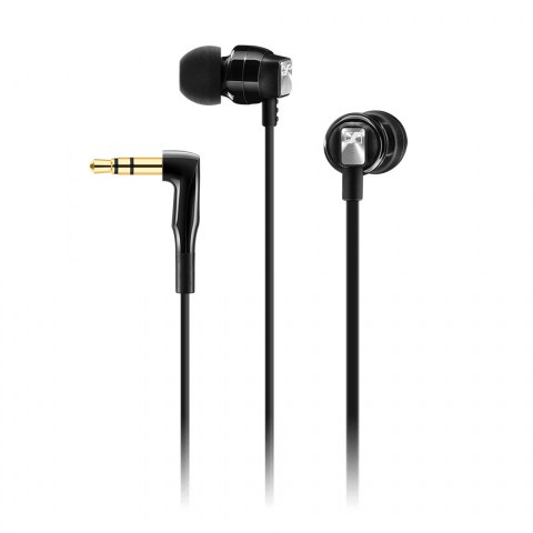 Sennheiser CX 3.00 Black Earphones - Product Front