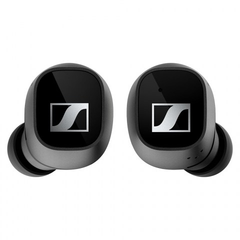 Sennheiser CX 400BT True Wireless Black Earbuds - Front