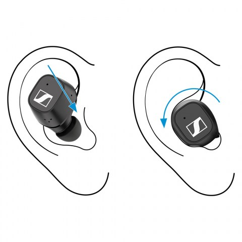 Sennheiser CX 400BT True Wireless Black Earbuds - How to Use