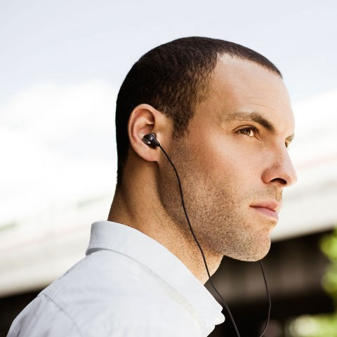 Sennheiser CXC 700 Earphones - Product Application - Man
