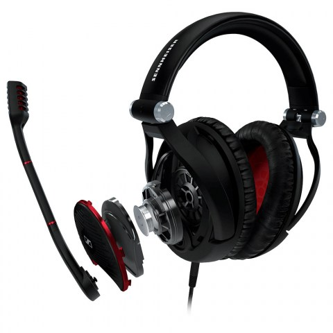 Sennheiser GAME ZERO Black Headset - Product Disassembled