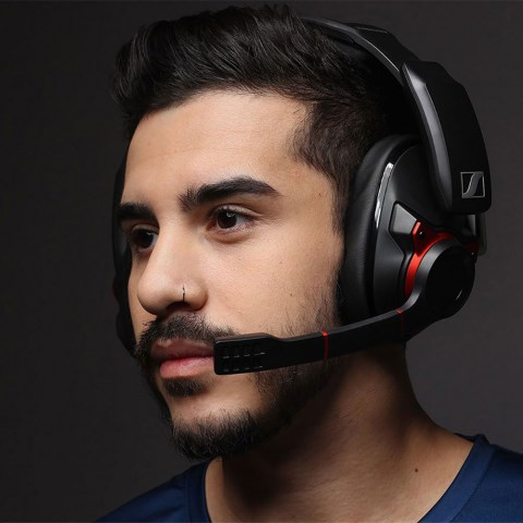 Sennheiser GSP 600 Headset - Product Application - Man Front
