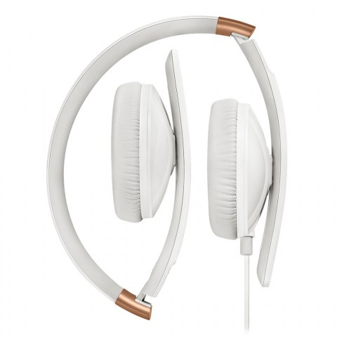 Sennheiser HD 2.30 White Headset - Folded