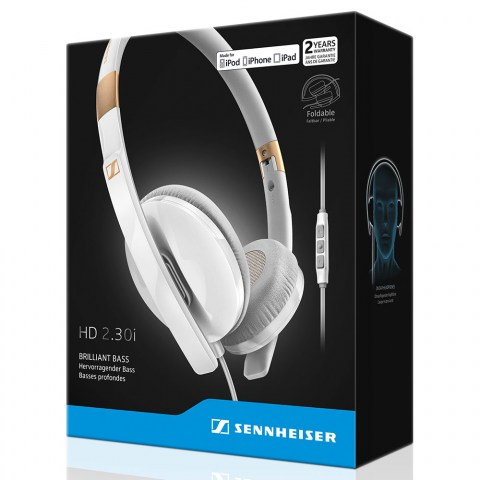 Sennheiser HD 2.30i White Headset - Packaging Front