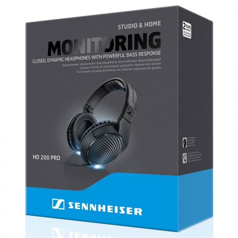Sennheiser HD 200 PRO Headphones - Packaging Front