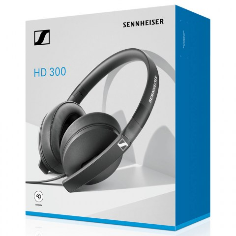 Sennheiser HD 300 Headphones - Packaging Front