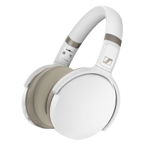 Sennheiser HD 450BT Wireless White Headphones