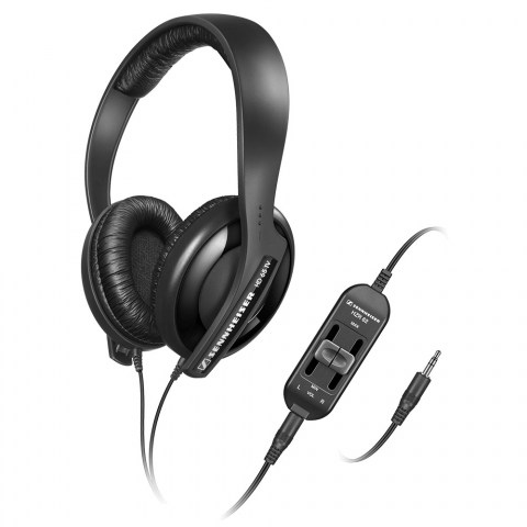 Sennheiser HD 65 TV Headphones - Product Front with Volume Control
