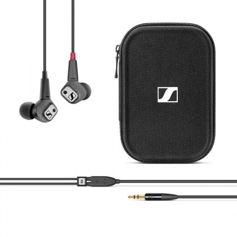 Sennheiser IE 80 S Headphones - Cable and Case