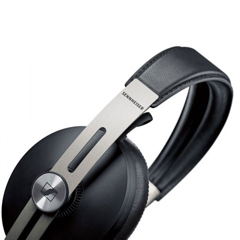 Sennheiser MOMENTUM 3 Wireless Black Headphones - Close