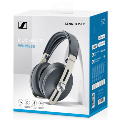 Sennheiser MOMENTUM 3 Wireless Black Headphones - Packaging Front