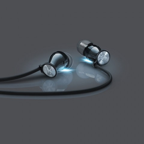 Sennheiser MOMENTUM In-Ear i Black Headphones - Product Bright Shadows