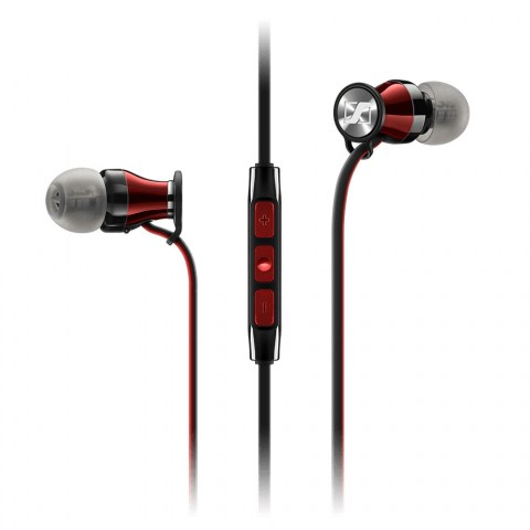 Sennheiser MOMENTUM In-Ear i Red Headphones - Product Front